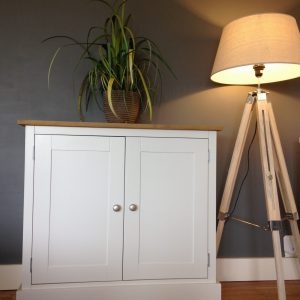 3ft painted sideboard