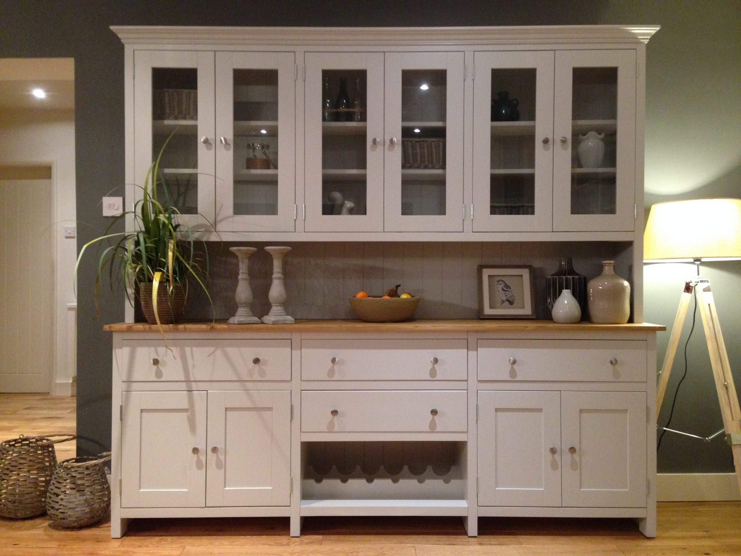 Buy Brand New Painted Pine Welsh Dresser For Your Kitchen In Uk