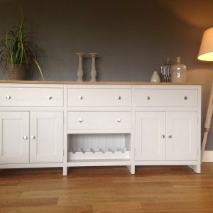 7FT SOLID PINE SIDEBOARD