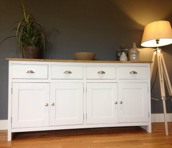6FT PAINTED SIDEBOARD