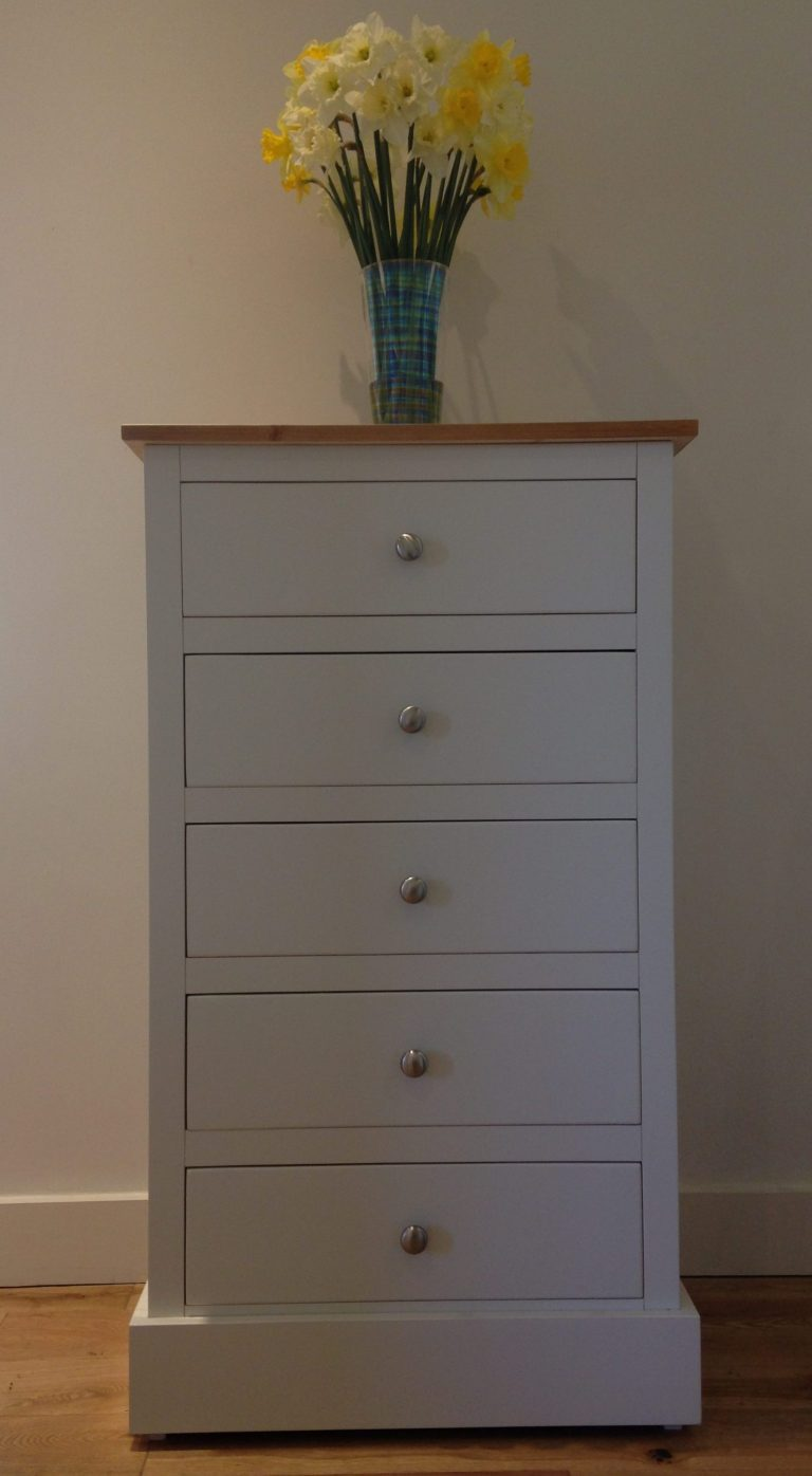 Painted Tallboy Painted Chest Of Drawers Solid Pine